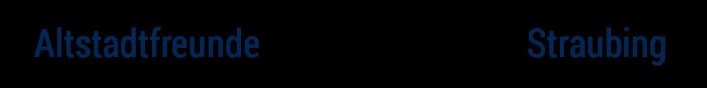 Logo des Förderverein der Straubinger Altstadtfreunde e.V.